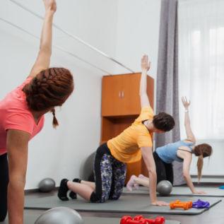 Cvičení pohybového aparátu